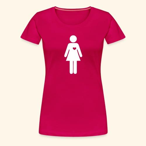 Pictogram woman women - Women's Premium T-Shirt