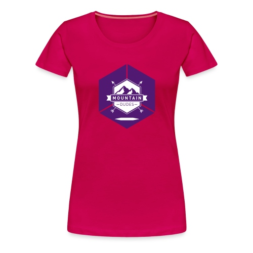 Mountain Dudes - Frauen Premium T-Shirt
