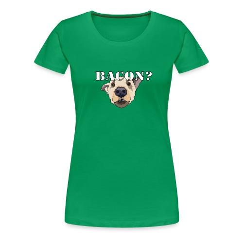 baconlarge - Women's Premium T-Shirt