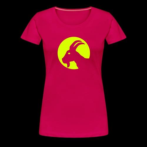 Zicke - Frauen Premium T-Shirt