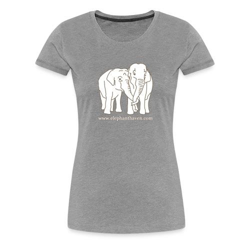 Elephants - Women's Premium T-Shirt