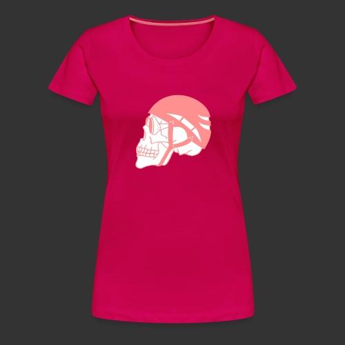 Bergsteigerskull - Frauen Premium T-Shirt