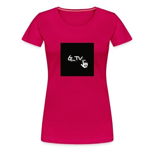 G_TV_ - Frauen Premium T-Shirt
