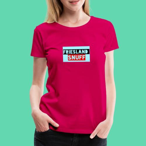 Friesland Snuff - Frauen Premium T-Shirt