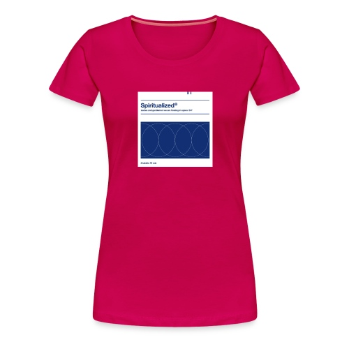 SPIRITUALIZED LOGO - Women's Premium T-Shirt