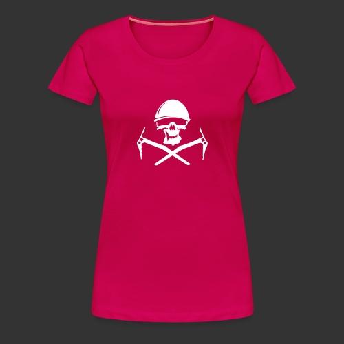 Climbing Skull - Frauen Premium T-Shirt