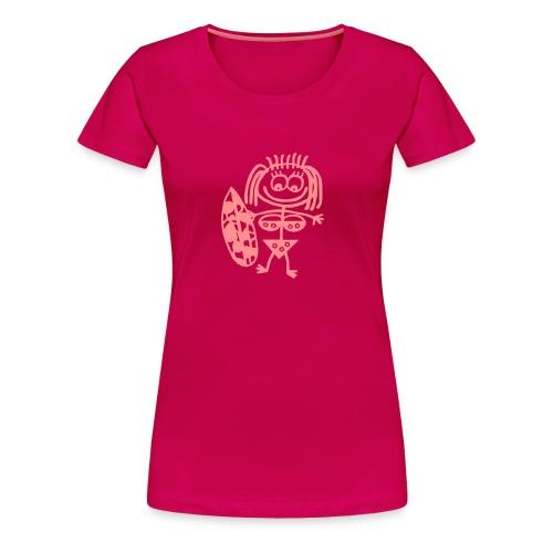 surfergirl T-Shirts - Frauen Premium T-Shirt
