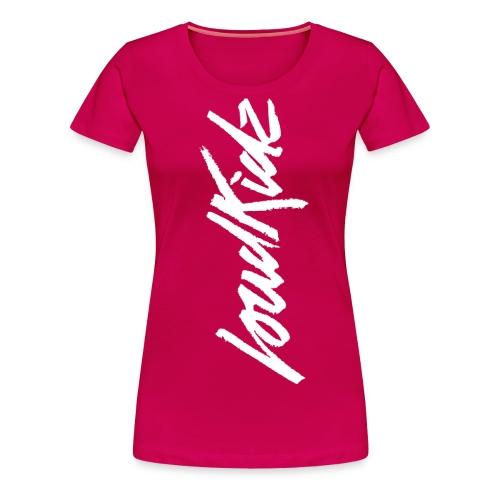 LoudKidz Loudies No Hashtag D png - Women's Premium T-Shirt