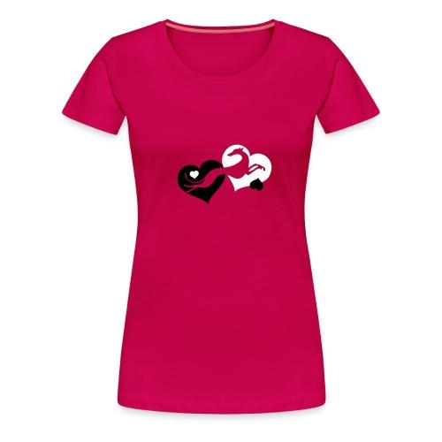 Lévrier Valentin - T-shirt Premium Femme