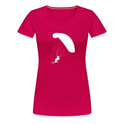 Speedflying Speedriding Paragliding - Frauen Premium T-Shirt