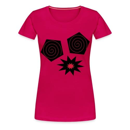 design yeux monstrueux - T-shirt Premium Femme