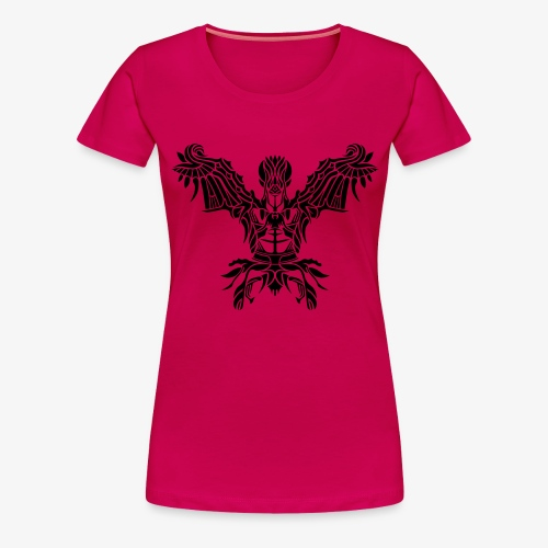 Angel Tribal - Frauen Premium T-Shirt