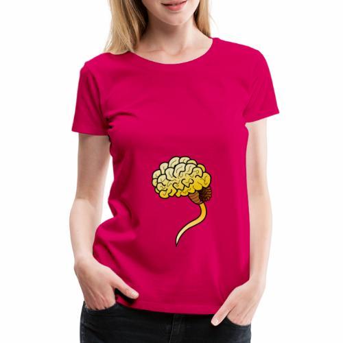 Brain - Frauen Premium T-Shirt