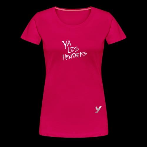 Fond transparent ombre porté texte png - T-shirt Premium Femme