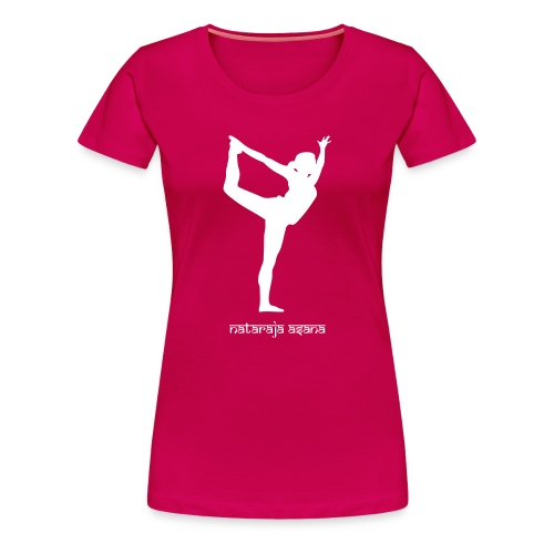Yoga Nataraja Asana - Frauen Premium T-Shirt