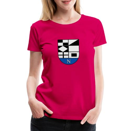 652px Coat of arms of Neringa Lithuania svg - Frauen Premium T-Shirt