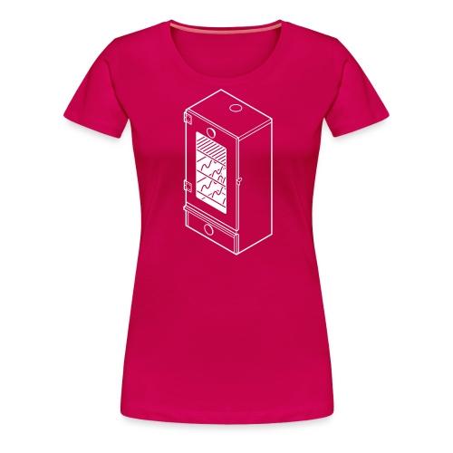 rookkast - Vrouwen Premium T-shirt