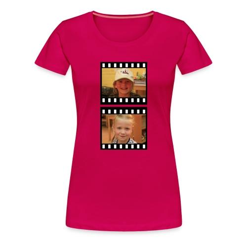 lente tess png - Vrouwen Premium T-shirt