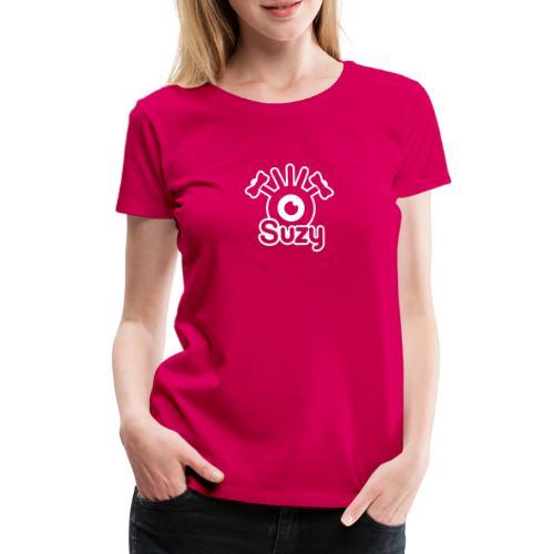 Suzy Label (White) - T-shirt Premium Femme