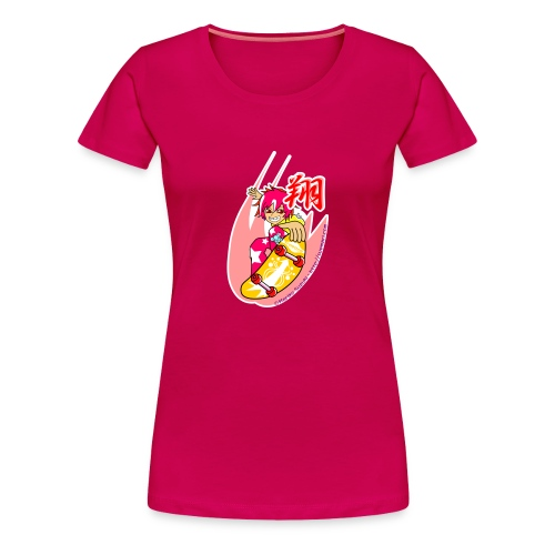 Skating girl - Women's Premium T-Shirt