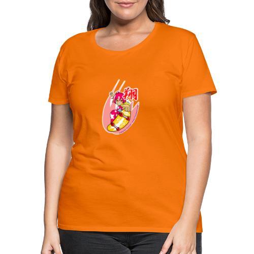Skating girl - Women's Premium T-Shirt