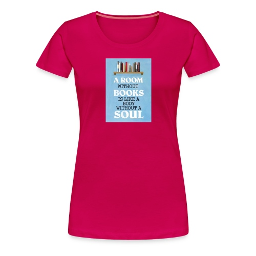 So many book so little time merch - Women's Premium T-Shirt