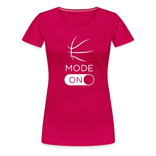 BasketballMode - Women's Premium T-Shirt