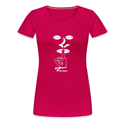 LSEUV Logo blanc top png - T-shirt Premium Femme