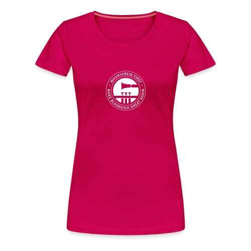 Musikverein First Blasmus - Frauen Premium T-Shirt