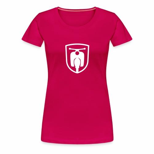 Moped Schwalbe Wappen - Women's Premium T-Shirt