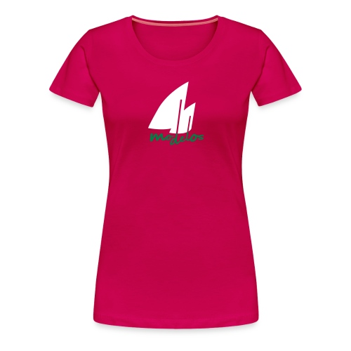 Modelos mit Segel - Frauen Premium T-Shirt