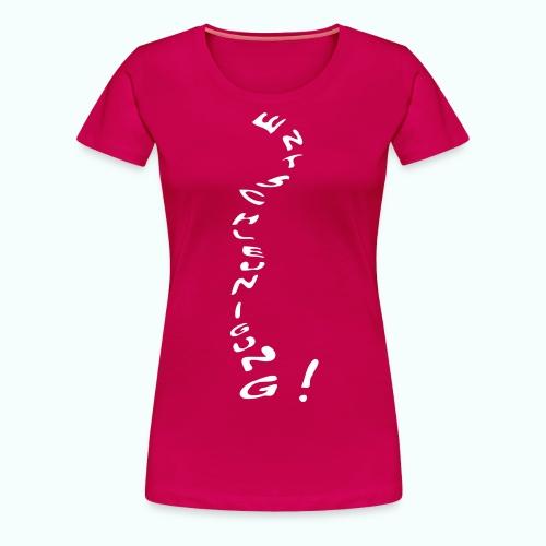 entschleunigung - Frauen Premium T-Shirt