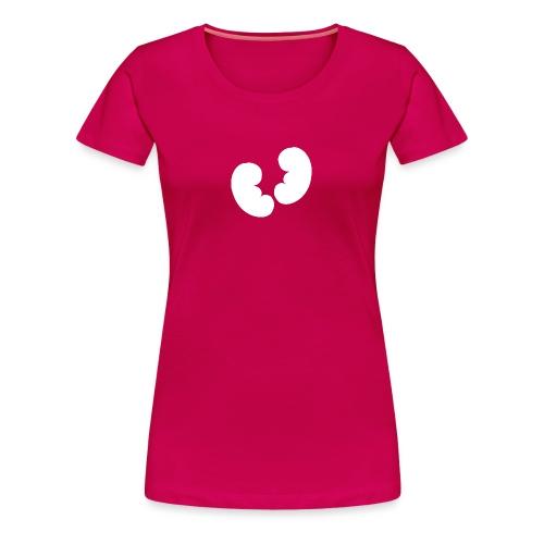 Nieren Design - Vrouwen Premium T-shirt