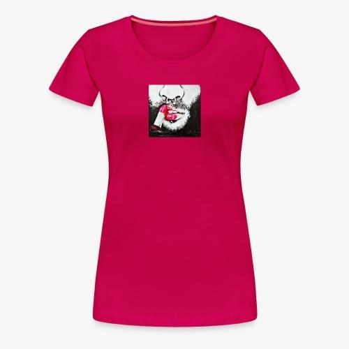 Queer revolution - Red lipstick - Women's Premium T-Shirt