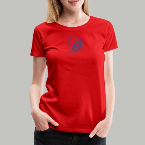 P_PLUS_3xPRINT (Bitte max. 40° verkehrt waschen) - Frauen Premium T-Shirt