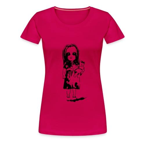 mädchen für T-Shirt - Frauen Premium T-Shirt