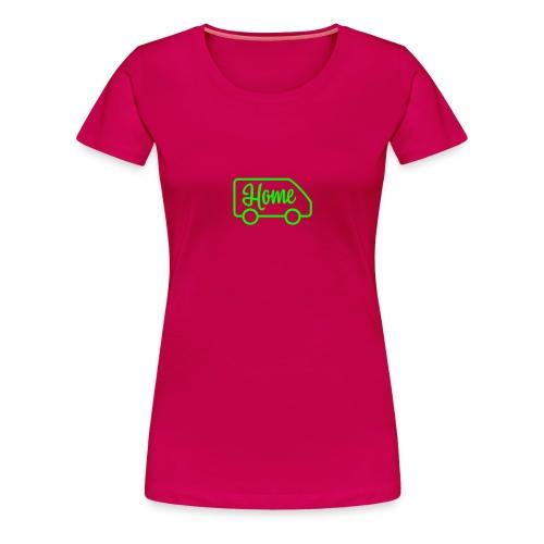 camperhome03a - Premium T-skjorte for kvinner