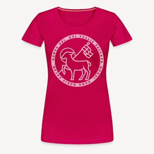 AGNUS DEI - Frauen Premium T-Shirt