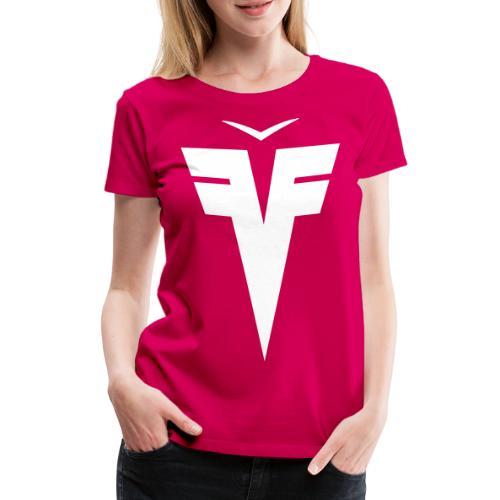 France Five épaules hexagone - T-shirt Premium Femme