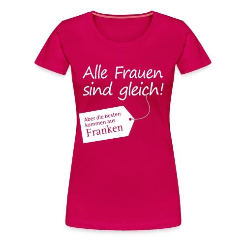 3_spruch_frauen_schwarz - Frauen Premium T-Shirt