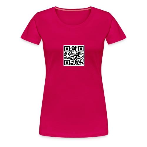 QR Muzena25x25 png - Frauen Premium T-Shirt