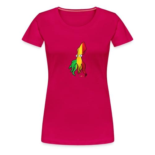 Bio Tshirt Squiddle Rasta LUI - T-shirt Premium Femme
