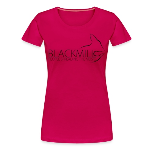 People Spreading the Music black - Women's Premium T-Shirt