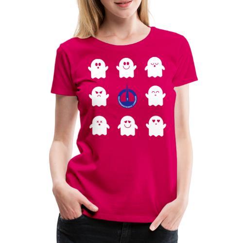 Das Bunte. Die Schulgeister in frischen Farben - Frauen Premium T-Shirt