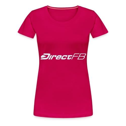 dfblogo - Frauen Premium T-Shirt