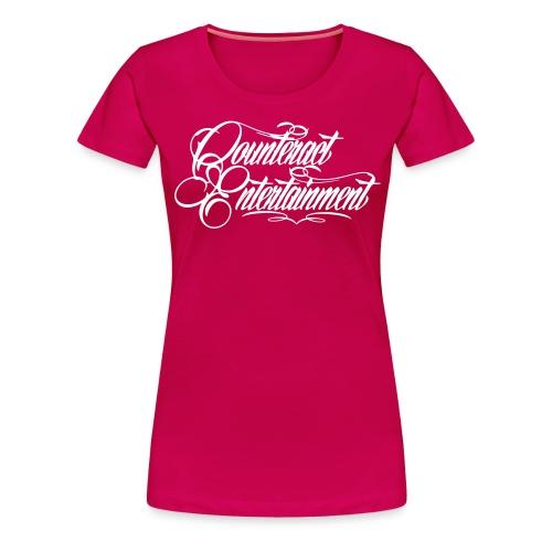 CE white - Frauen Premium T-Shirt