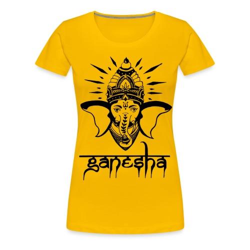 Ganesha - Frauen Premium T-Shirt