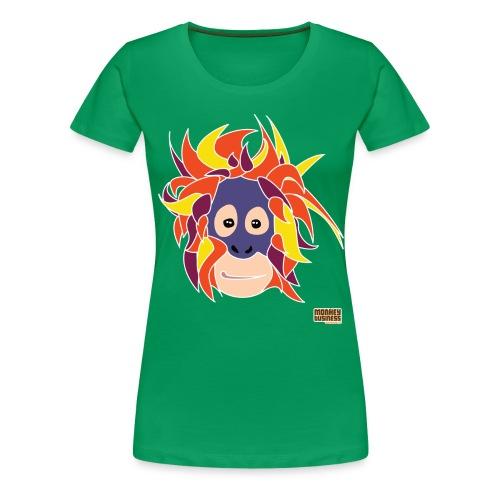 Oppermonkey Illustratie - Vrouwen Premium T-shirt