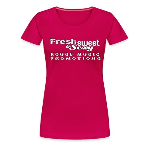 Fresh Cap Logo 4 png - Women's Premium T-Shirt