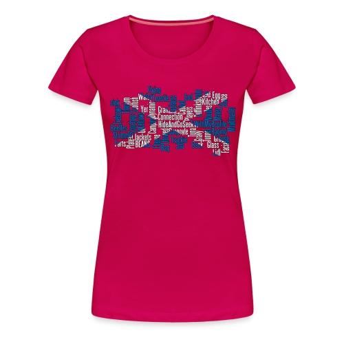 SCP T shirt Collage png - Women's Premium T-Shirt